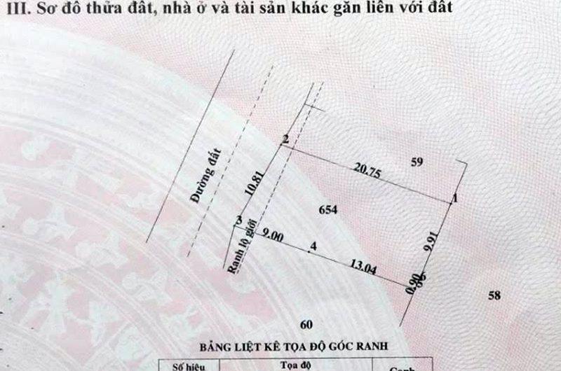 BÁN NỀN ĐẤT THỔ CƯ ẤP GIỮA, XÃ TÂN PHÚ TRUNG, H.CỦ CHI, TPHCM