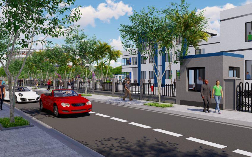 hạ tầng dự án khu đô thị phú nam long