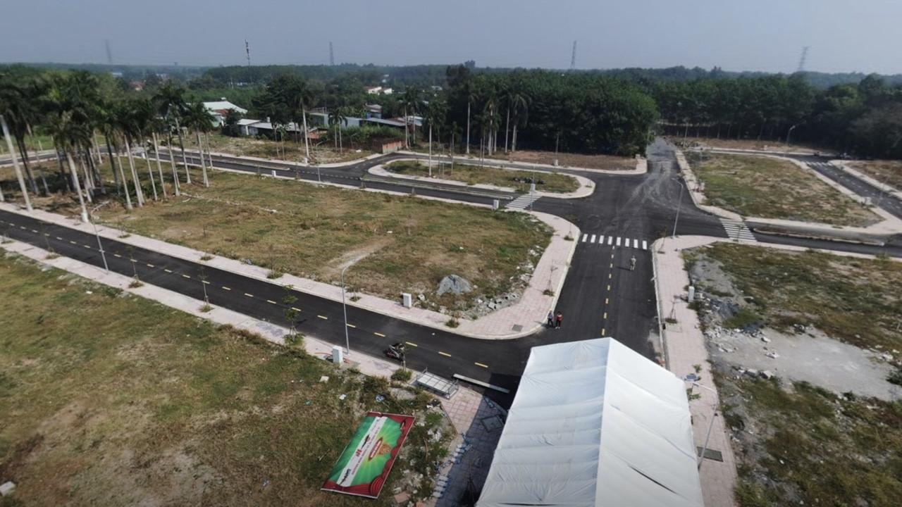hạ tầng hoàn thiện KDC số 7
